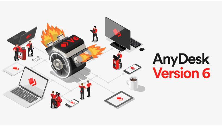 AnyDesk Remote Desktop Version 6