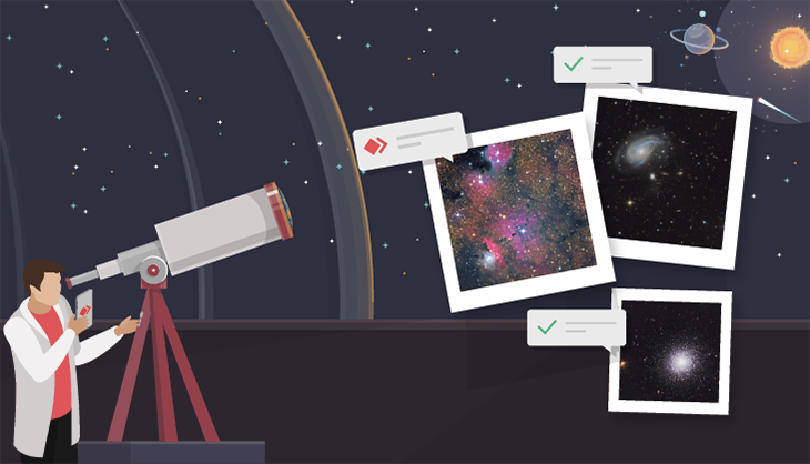 Astrophotography with AnyDesk