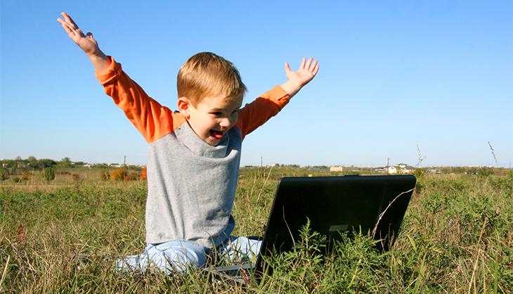 Jedes Kind kann Remote-Desktop mit AnyDesk
