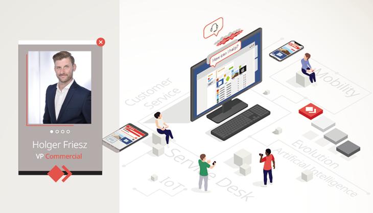 Holger Friesz, VP Commercial at AnyDesk, explains the Evolution of Customer Service.