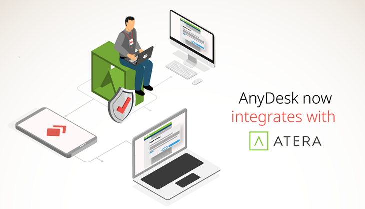 AnyDesk now integrates with Atera