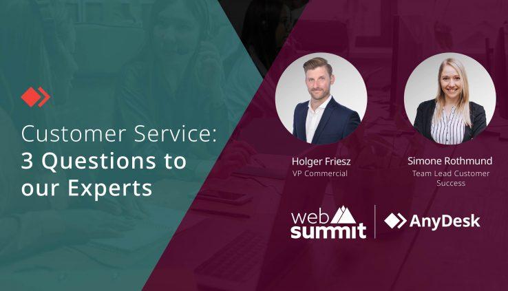 Web Summit 2021 Masterclass Customer Service